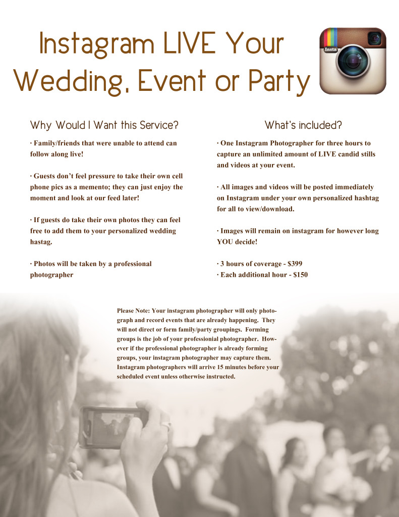 Flyer INstagram Weddings