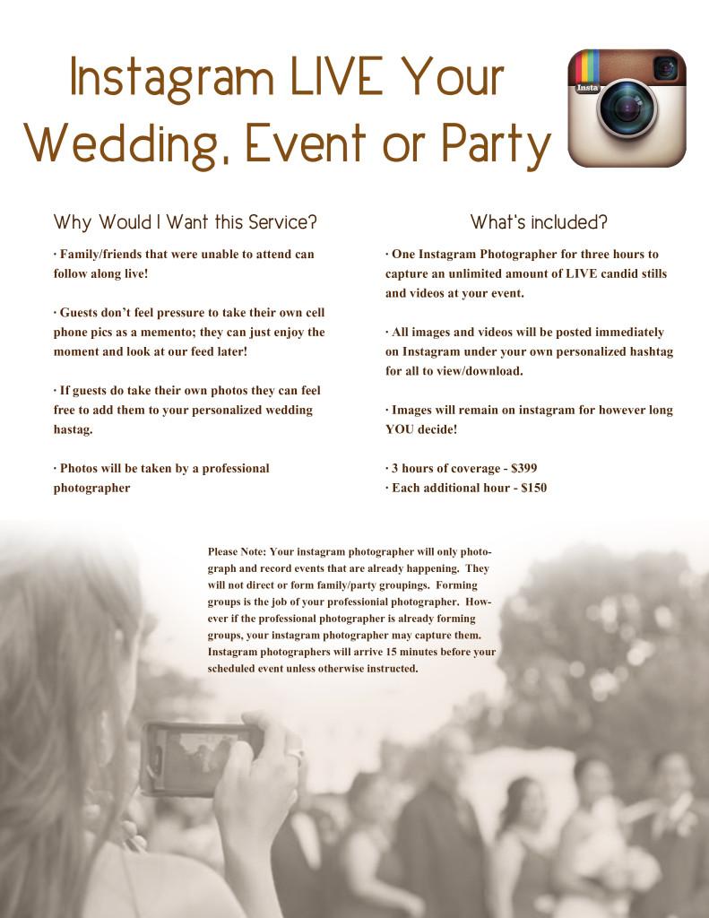 Flyer INstagram Weddings