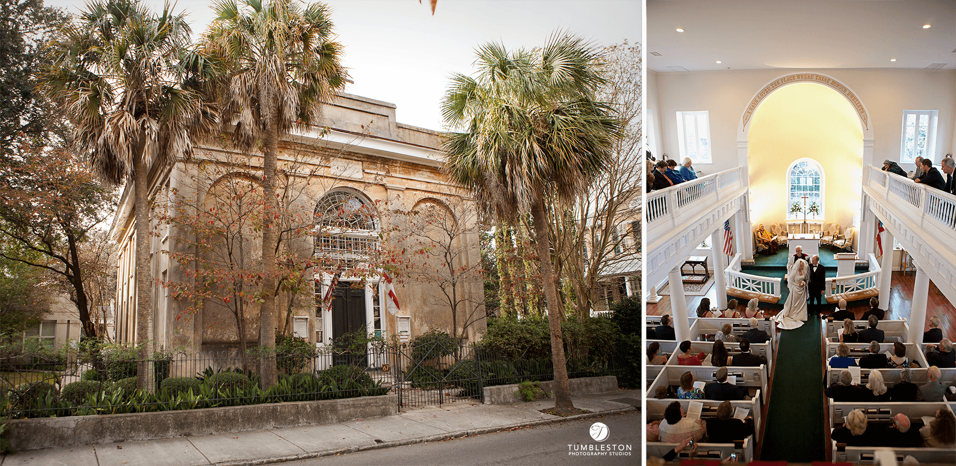 Our favorite wedding chapels best wedding venues in charleston sc st stephens chapel charleston junglespirit Images